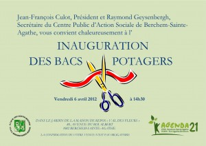Inauguration des Bacs Potagers