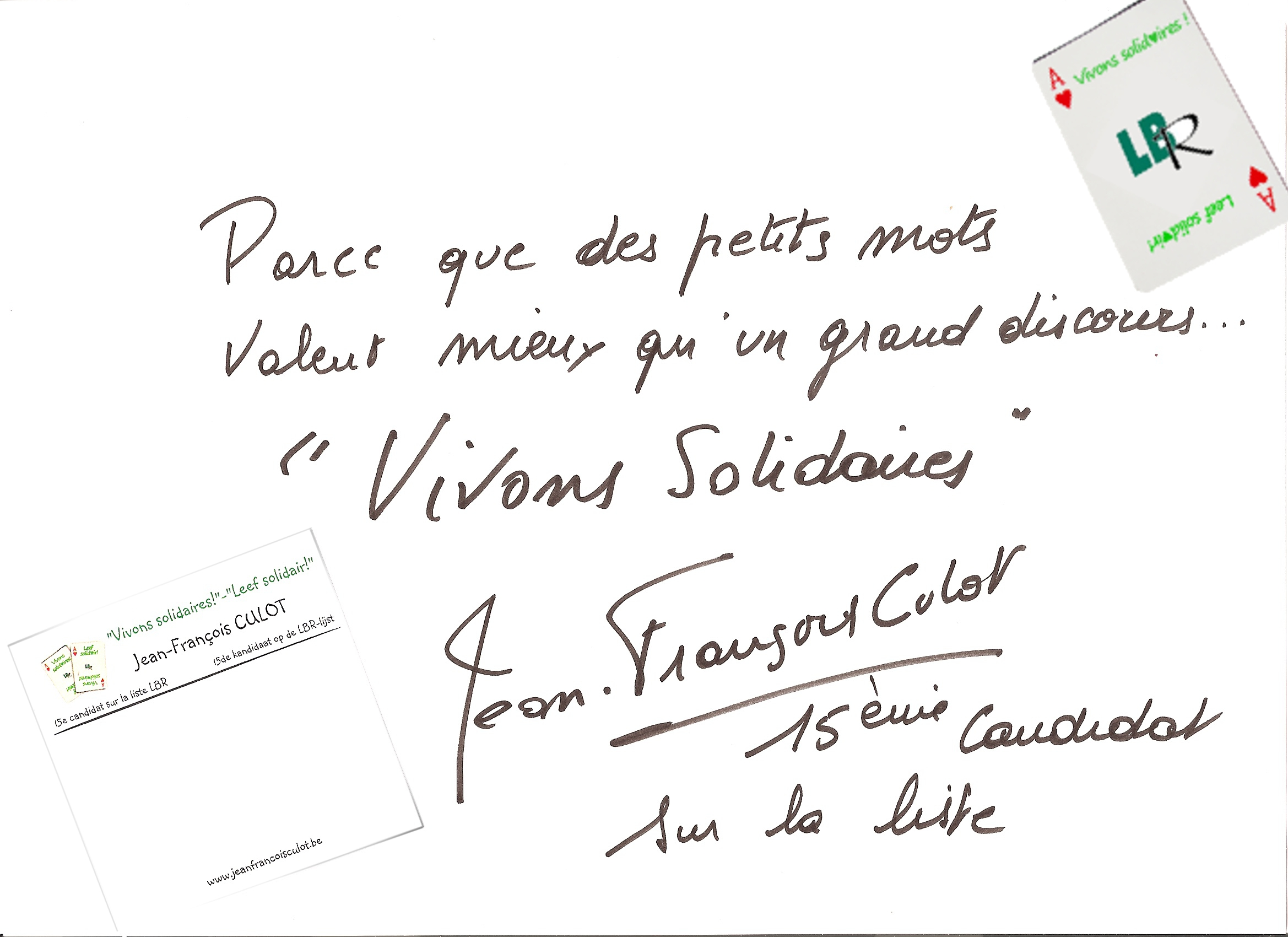 Vivons Solidaires !